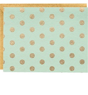Small Dots Gold On Mint A2 Note