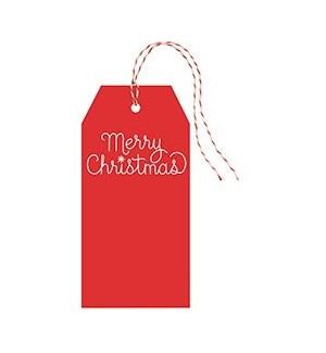Merry Christmas Hang Tag