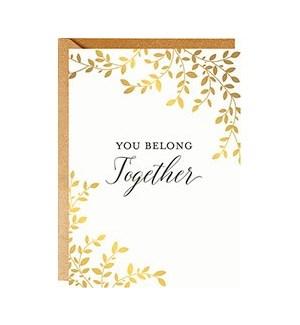 Belong Together A6 Single Card