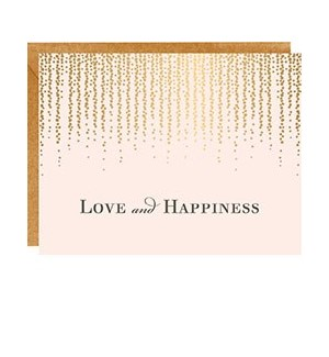 Love and Happiness A2 Single Card