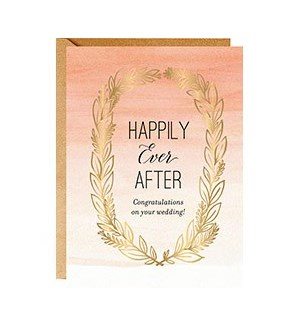 Happily Ever After Laurel A7 Single Card