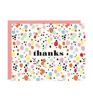 Thanks Sprinkles A2 Single Card