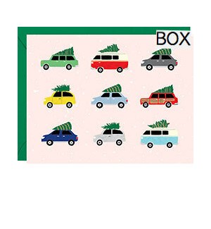 Vintage Holiday Cars A2 S/10