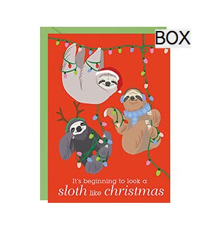 Holiday Sloths A6 S/10