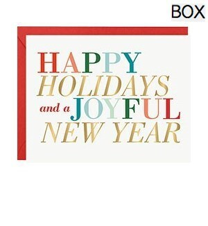 Holiday New Year Colorful Type FOIL A2 S/10