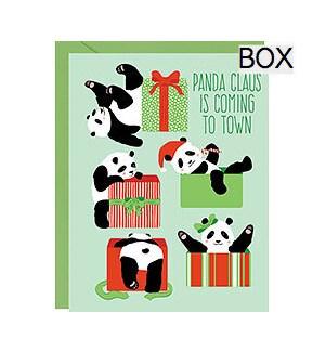 Panda Claus A2 (S/10)