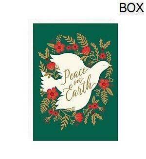 Floral Peace Dove Foil A6 (S/10)