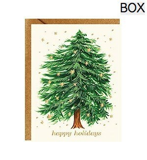 Starry Tree Happy Holidays Foil A2 (S/10)