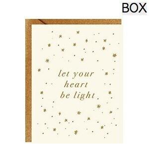 Heart Be Light Gold Foil A2 (S/10)