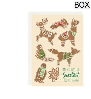 Gingerbread Critters A6 (S/10)