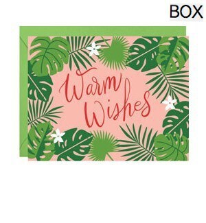 Warm Wishes Palms FOIL A2 (S/10)