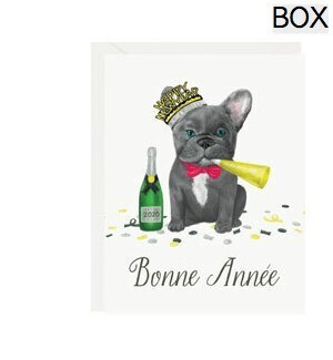 Frenchie New Year A2 (S/10)
