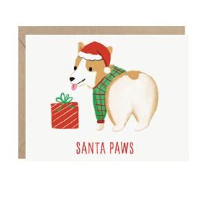 Santa Paws A2 Single Card