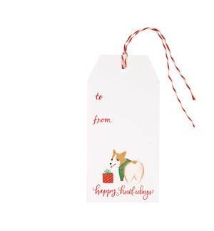 Dogs in Pajamas Hang Tag (S/10)