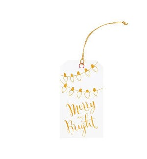 Merry & Bright Tag S/3