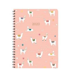 2020 BiWeekly Flexi Planner - Llama Fun