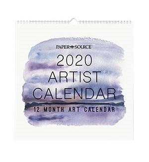 2020 Artist Calendar