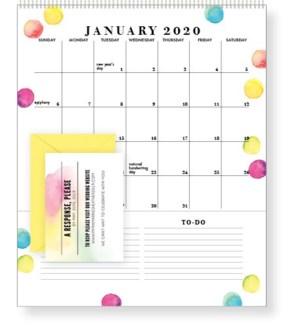 2019-2020 Pocket Calendar – FLORAL