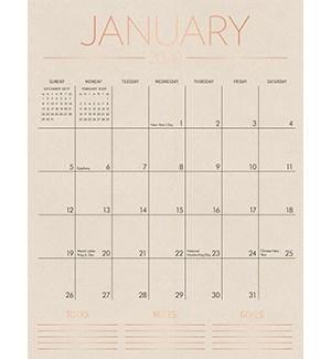 2020 Tall on the Wall Calendar
