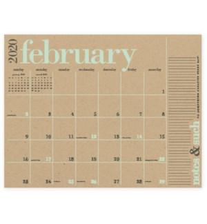 2019-2020 Great Big Calendar