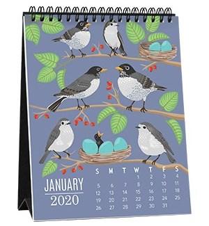 2020 Critter Easel Calendar