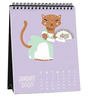 2020 Catitude Easel Calendar