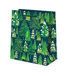 Snowy Trees Medium Bag