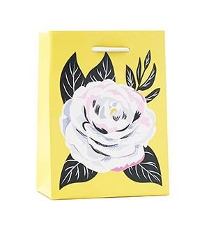 Camellia Yellow Small Bag
