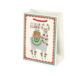 Holiday Llama Small Bag