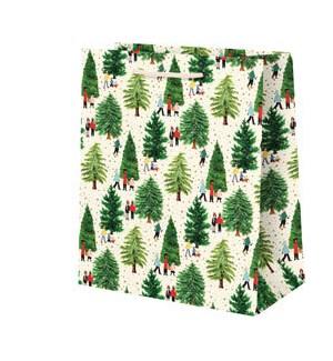 Christmas Tree Farm Foil Medium Bag