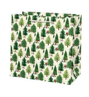 Christmas Tree Farm Foil Large Bag
