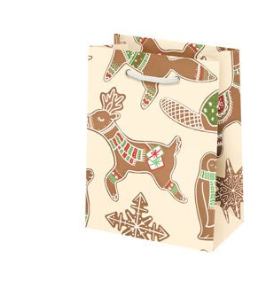 Gingerbread Critters Small Bag