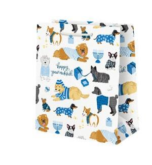 Hanukkah Dogs Medium Bag