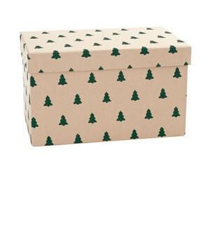 Green Glitter Tree XL BOX