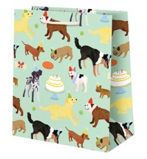 Birthday Dogs Medium Bag