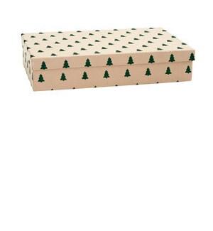 Green Glitter Tree Shirt BOX
