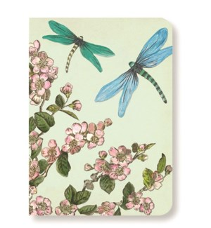 Dragonflies And Blossom