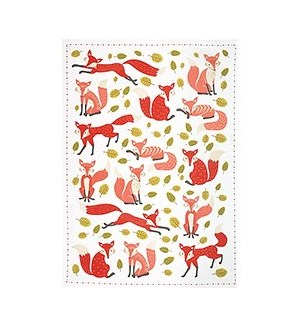 Foxes Tea Towel (S/3) - WNP