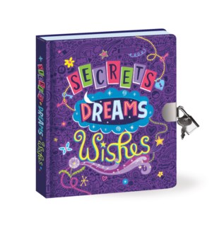 Secrets, Dreams, Wishes Diary - Back in stock 7/1