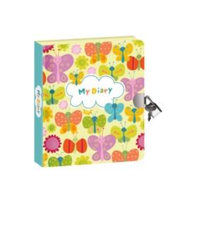 Butterflies Glow-In-The-Dark Diary - Back in stock 7/1