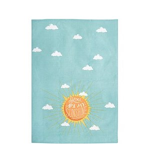 Sunshine Tea Towel S/2