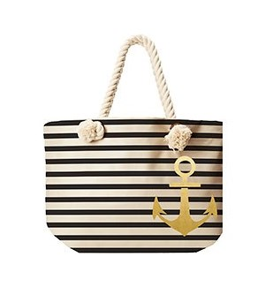 Anchor Stripe Tote