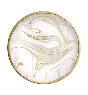 Blush Marble Trinket Dish