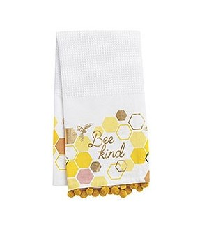 Bee Kind Tea Towel S/2 - Wnp
