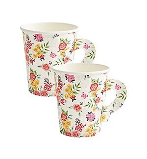 Garden Party Cups S/10