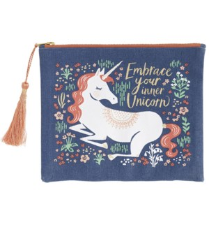 Unicorn Canvas Pouch