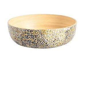 Egg Shell Bamboo Bowl Lg