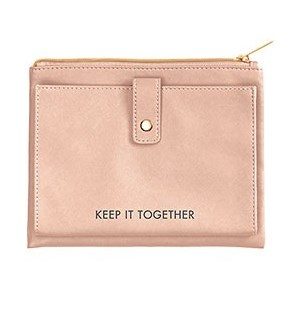 Rose Gold Snap Pouch - WNP
