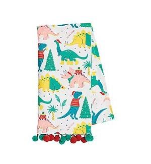 Santasaurus Tea Towel S/2