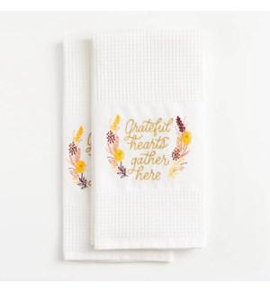 Thanksgiving 2019 Waffle Tea Towel